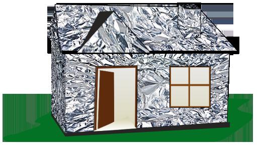 A Foil warp house