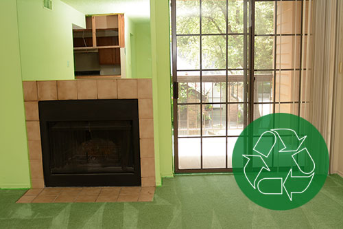 A Remodeling home with the Environmentally Friendly Insulation